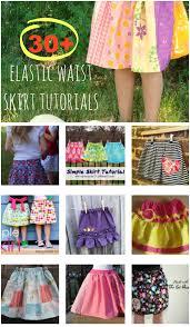 30 elastic waist skirt tutorials little summer skirts