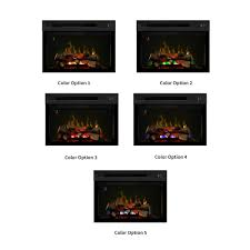 dimplex 25 in multi fire xd electric fireplace insert pf2325hl