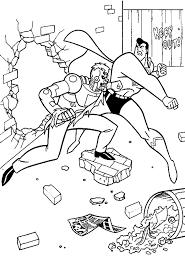 batman spiderman superman coloring superman comic free