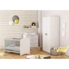 chambre bebe complete cdiscount clover chambre bébé complète lit 60x120 cm armoire commode à