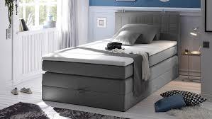 B O Rollcontainer Hawaii Bett Schlafzimmerbett Grau Topper 120