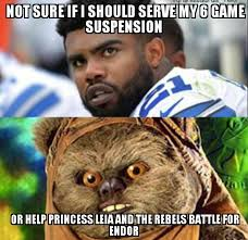 Ewok Memes - dallas cowboys battle for endor imgur