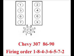 chevy 307 firing order youtube
