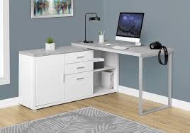 L Corner Desk Latitude Run Dariell L Shape Corner Desk Reviews Wayfair