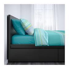 ikea malm high queen size storage bed frame aptdeco