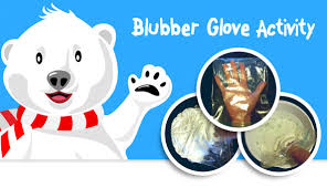 Two Polar Bears In A Bathtub Protect Yourself From Arctic Temperatures With This Blubber Glove