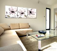 Home Decor Lotus Canvas Painting Fashion Wall Art Painted On