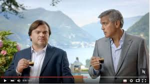 nespresso commercial actress jack black jack black joins george clooney in new nespresso ad caign