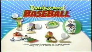 Backyard Kids Toys by Dairy Queen Kids Meal Backyard Baseball Toy Tv Commercial Youtube