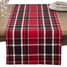 jarret collection classic plaid design cotton table runner free