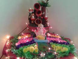 homemade ganpati decoration ideas decoration for pooja