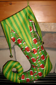 how the grinch stole christmas stocking 55 00 via etsy