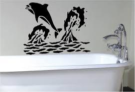 Bathroom Stencil Ideas by Gray Ceramic Wall Bathroom Tile Glass Shower Cabin Partition Walls