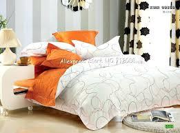 orange bed linen duvet covers u2013 de arrest me