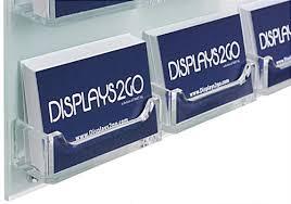Business Card Racks Branded Business Card Rack Hardware Included