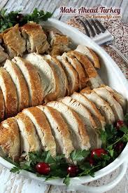 how to make ahead and reheat turkey
