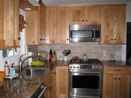 kitchen cabinets with backsplash kitchen wonderful maple kitchen cabinets backsplash maple