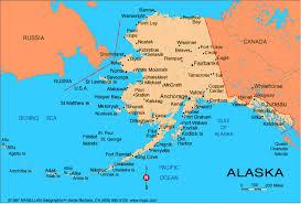 map usa and russia alaska counties road map usa