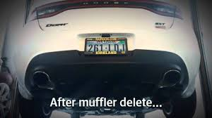 How Much Are Dodge Darts 2013 Dodge Dart 1 4 Before After Muffler Delete Youtube
