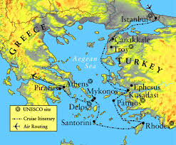 Greece Islands Map by Greece U0026 Turkey Map Maps Of The Ancient World Pinterest