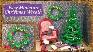 easy miniature wreath tutorial