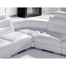 promo canape canape d angle modulable soldes canap cuir blanc design