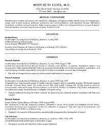 Example Medical Resume by Resume Templates For Doctors 2 Medical Doctor Resume Example