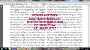 efficient wireless multimedia multicast in multi rate multi