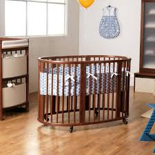 Pali Cribs Discontinued Stokke Sleepi Crib In Walnut Brown With Mattress Free Shipping