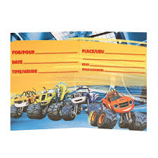 monster invitation blaze and the monster machines party invitations 8 who wants 2