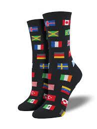 Flag Of The World Buy Men U0027s World Flags Socks Socksmith