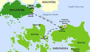 map batam angsana bintan bintan island indonesia