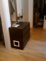 Ikea Litter Box Cabinet Kittylitter Malm Malm Litter Box And Ikea Hack