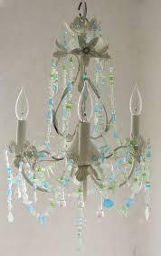 sea glass home decor zspmed of sea glass chandelier popular in small home decor