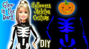 skeleton dress spirit halloween barbie halloween glow in the dark skeleton costume diy