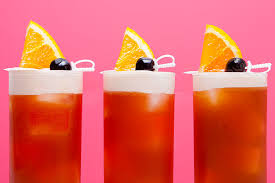 Who Drinks Southern Comfort Punch Whiskey Peach Smash Cocktail Recipe