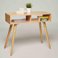 console bureau pas cher pas cher pier import en bureau bois console u meuble pas
