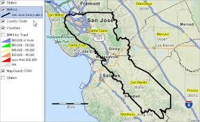 msa map san jose msa map maps of usa