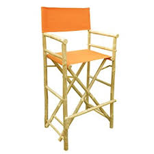 Tall Comfortable Chairs Amazon Com Zew Hand Crafted Tall Foldable Bamboo Director U0027s Chair