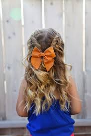 Easy Hairstyle For Girls by Best 25 Toddler Wedding Hair Ideas On Pinterest Baby Hair