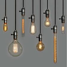 Vintage Light Bulb Pendant Retro Incandescent Vintage Light Bulb E26 E27 Edison Bulbs For