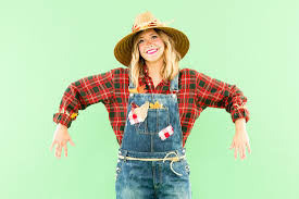 plaid shirt halloween costumes diy this last minute scarecrow costume with pieces from your own