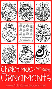ornaments coloring 1 1 1 1