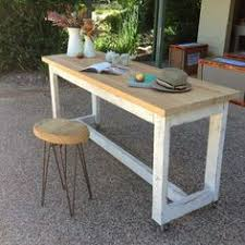 Kitchen Table With Wheels by Ghify Once Upon A Queenslander Eco Recycled Solid Timber High