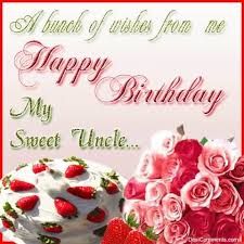 a bunch of wishes from me happy birthday my sweet happy