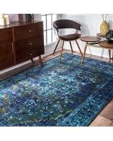 4 X 8 Area Rugs Abstract Blue Area Rugs Bhg Com Shop