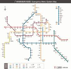 Mtr Map Guangzhou Subway Metro