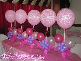 hello centerpieces happy birthday centerpieces at lina cebu balloons and
