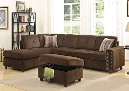 chocolate sectional sofa morey velvet sectional sofa