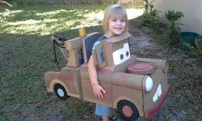 Tow Mater Halloween Costume Mater Tow Truck Costume Cardboard Misc